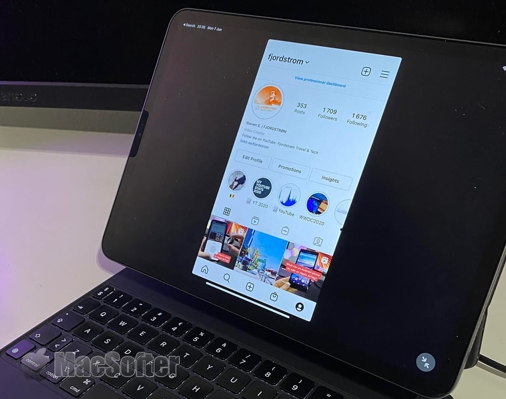 iPadOS 15加入让iPad能以横向显示iPhone专用Apps