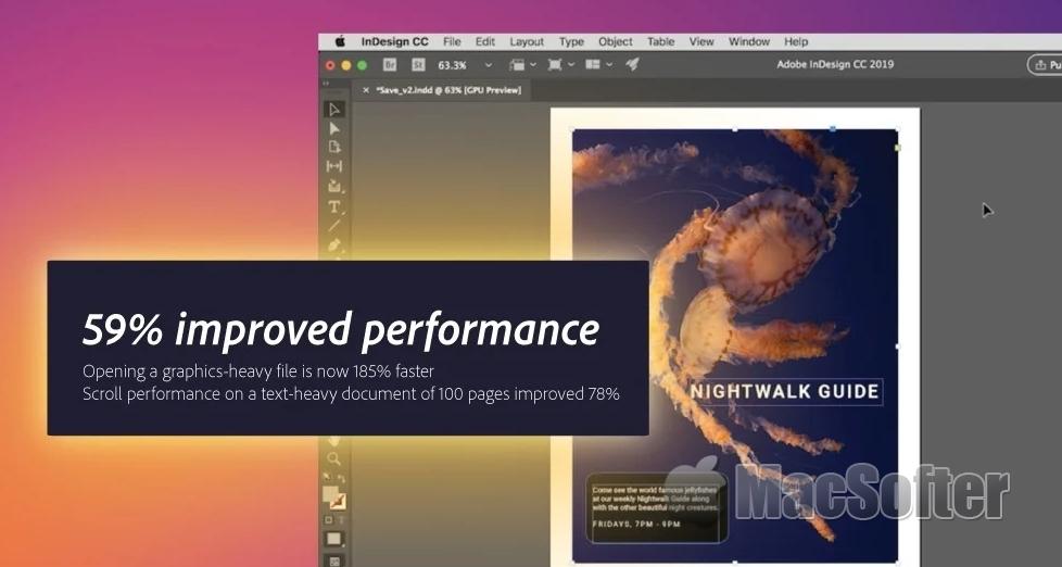 Illustrator和InDesign原生支持苹果芯片:更快、更高效创作