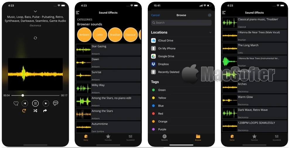 [iPhone/iPad限免] Sound Effects HD :音频编辑管理工具