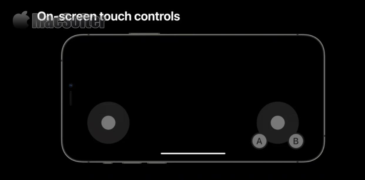 iOS 15向开发者提供新的屏幕游戏控制器:可依手型定制