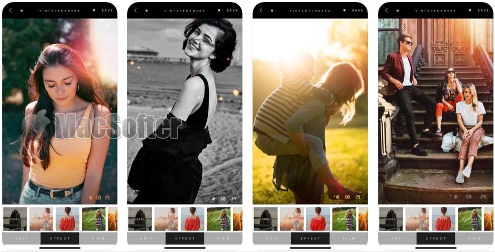 [iPhone/iPad限免] ṖreSETS 水印相机 :复古滤镜胶片相机软件