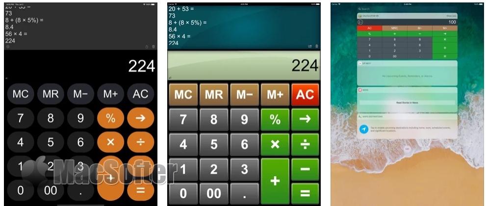 [iPhone/iPad限免] 高清计算器 :可输入公式的计算器软件