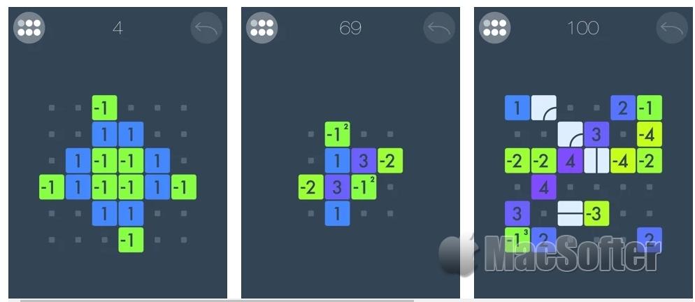 [iPhone/iPad限免] Zero+ : 数学归零益智小游戏