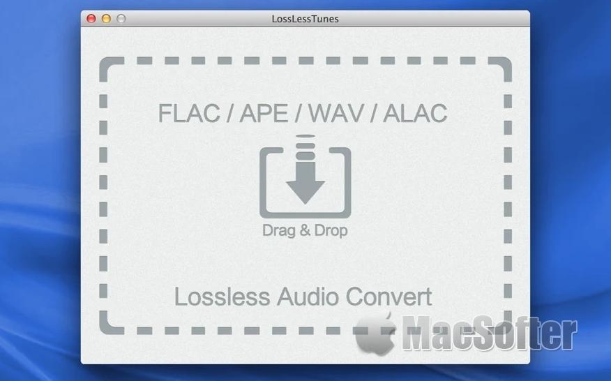 [Mac] LosslessTunes : Mac的无损音质的音频格式转换器