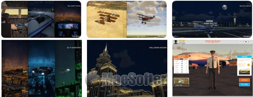 [iPhone/iPad限免] Ultimate Flight Simulator Pro :飞行模拟游戏