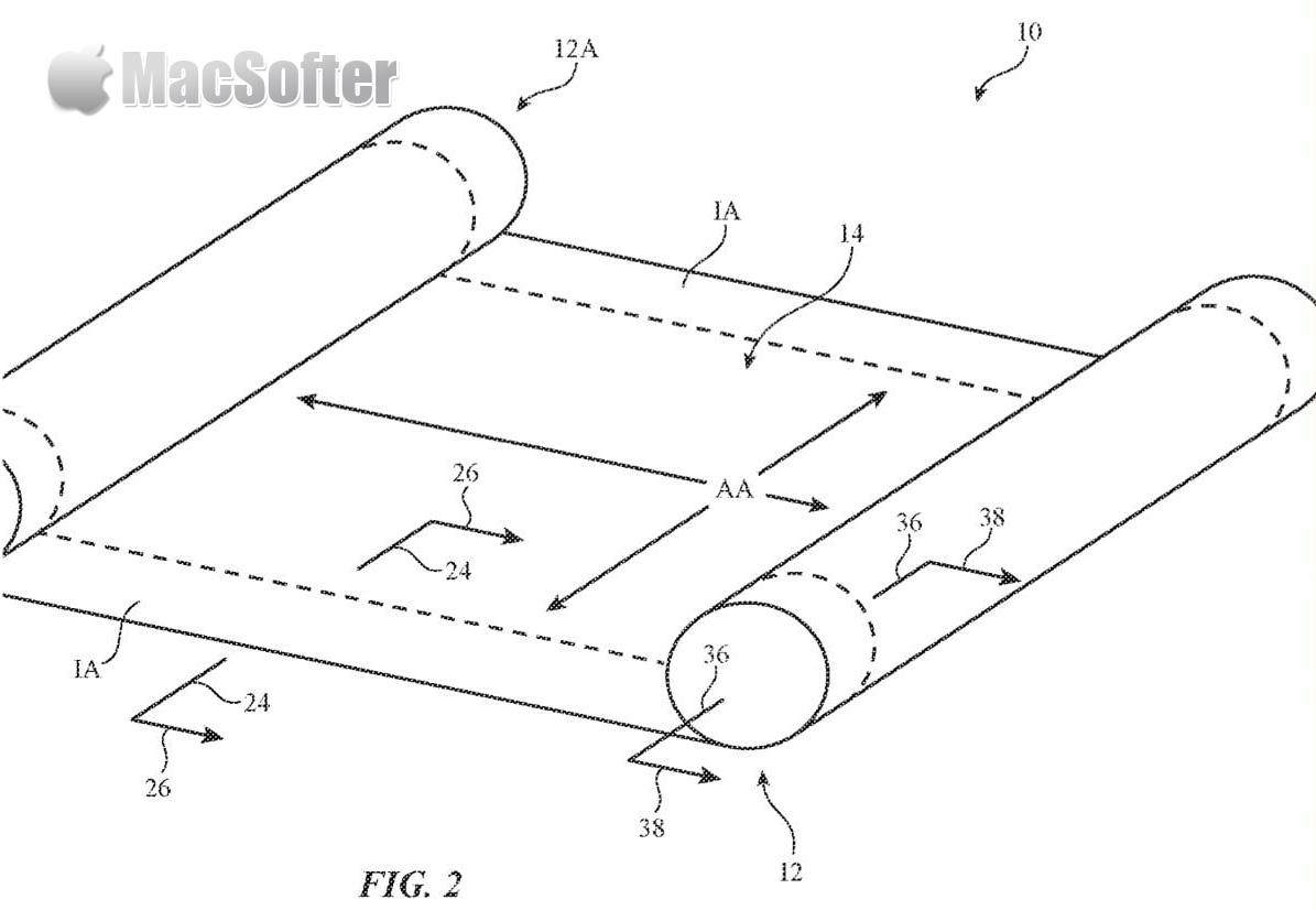 专利描述  电子设备(iPhone、iPad、Mac 或更多)可以具有柔性显示器,电子设备可以具有可旋转的外壳部分,使得柔性显示器可以沿著一个或多个弯曲轴折叠。  此前分析师郭明錤曾表示 Apple 会在 2023 年推出摺叠 iPhone,虽然目前摺叠型的智能手机已经有不少公司推出,不过 iPhone 仍在部署。