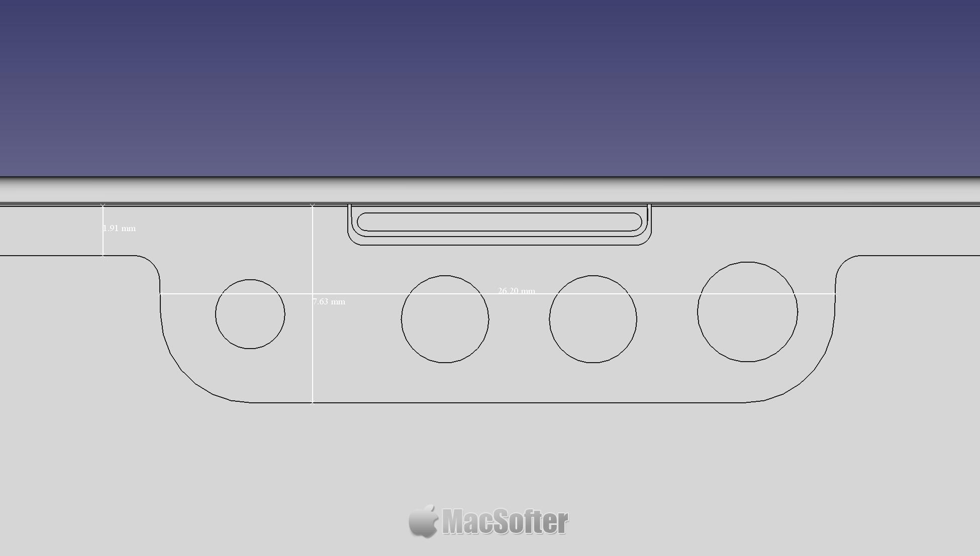 iPhone 13 CAD图遭曝光 : iPhone 13细节全揭露