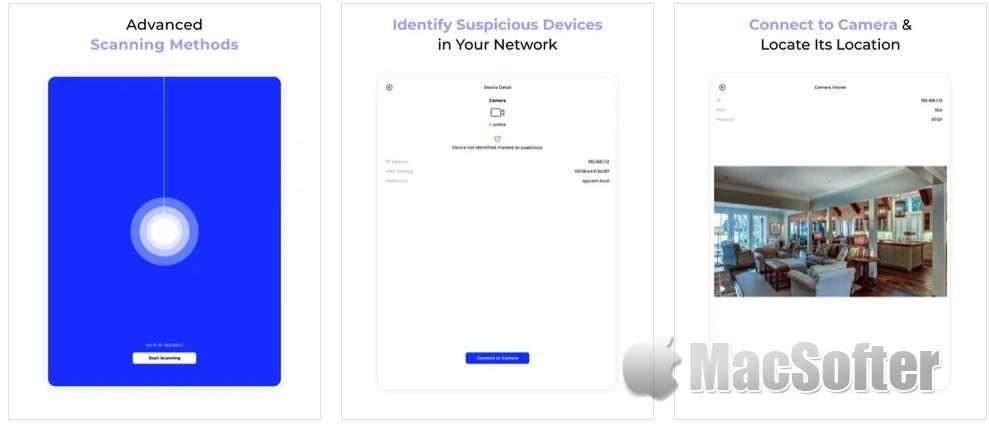 [iPhone/iPad限免] Hidden Camera Finder : 局域网摄像头扫描工具