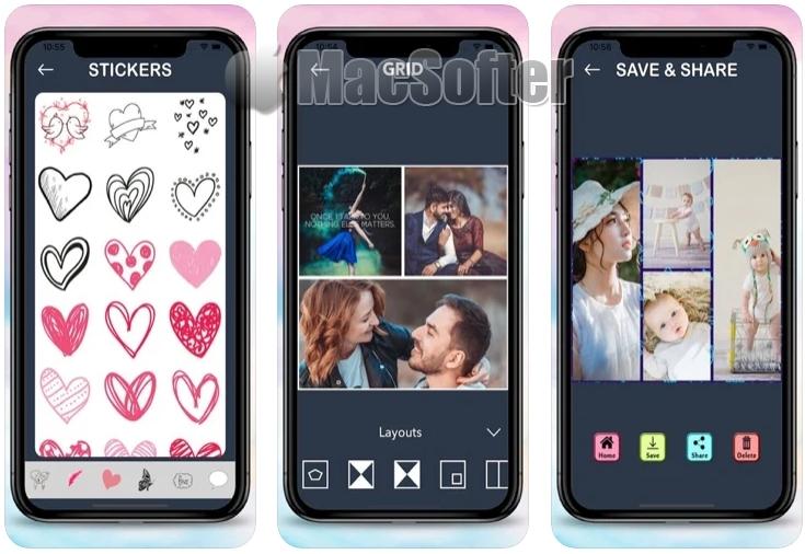 [iPhone限免] Photo Collage Maker 2021 : 照片拼贴工具