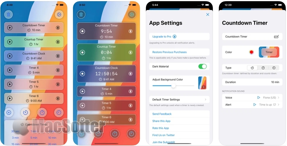 [iPhone/iPad限免] Amazing Timer :实用的计时器软件