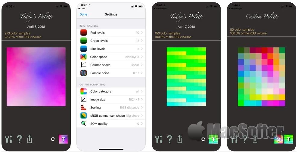 [iPhone/iPad限免] Palettist :好用的调色板软件
