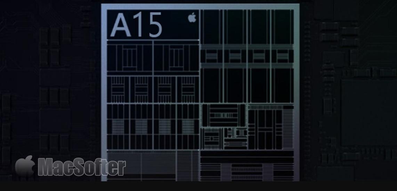苹果最新A15参数曝光:或配备5颗GPU核心