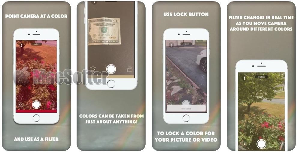 [iPhone限免] Realtime Filter : 实时滤镜相机软件
