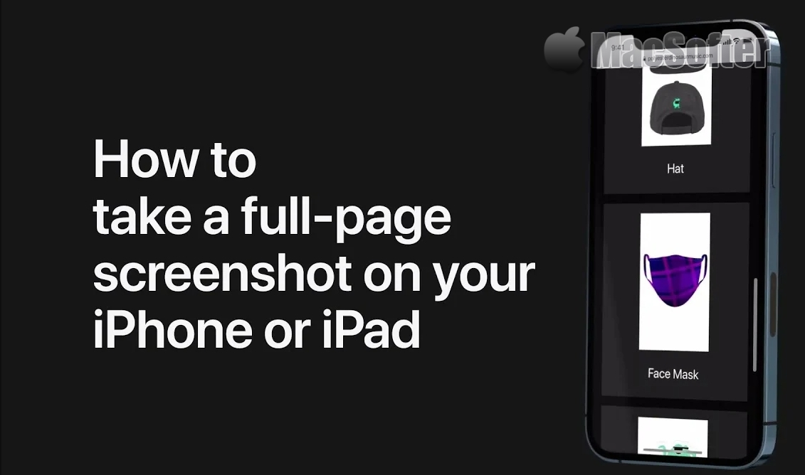 如何在iPhone上截取整页屏幕截图 (含视频教程)