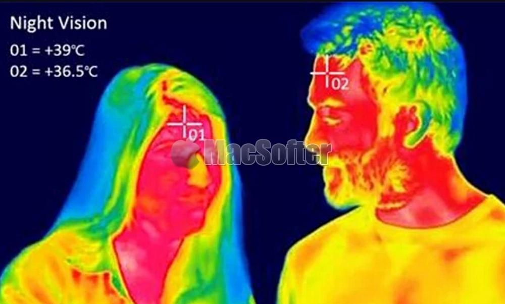 iPhone摄像头新专利:可测量温度来监控用户健康
