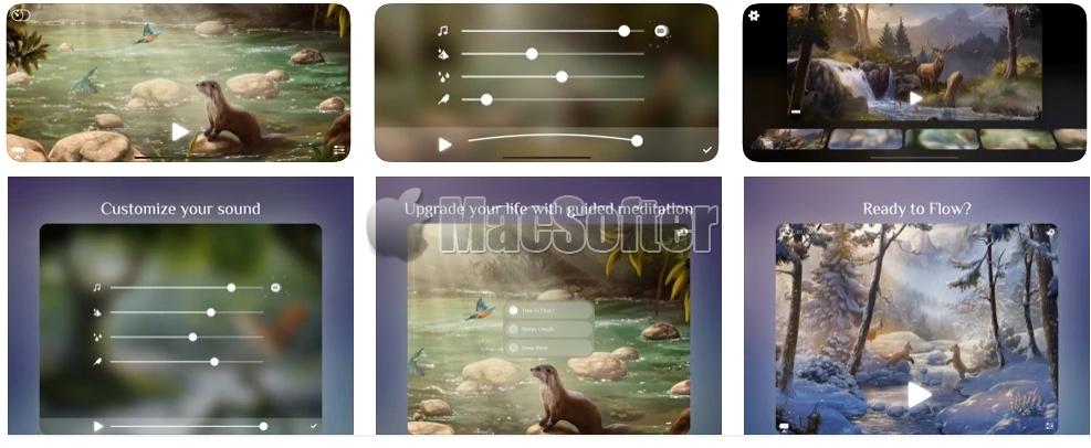 [iPhone/iPad限免] Flowing :放松心情的白噪音软件