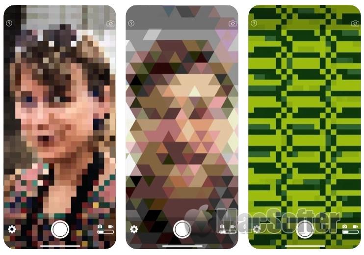 [iPhone限免] pixelcam : 像素效果相机软件