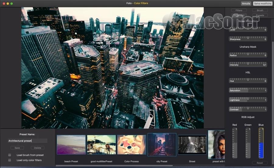 [Mac] Color Filters For Photos :Mac的照片滤镜特效处理工具