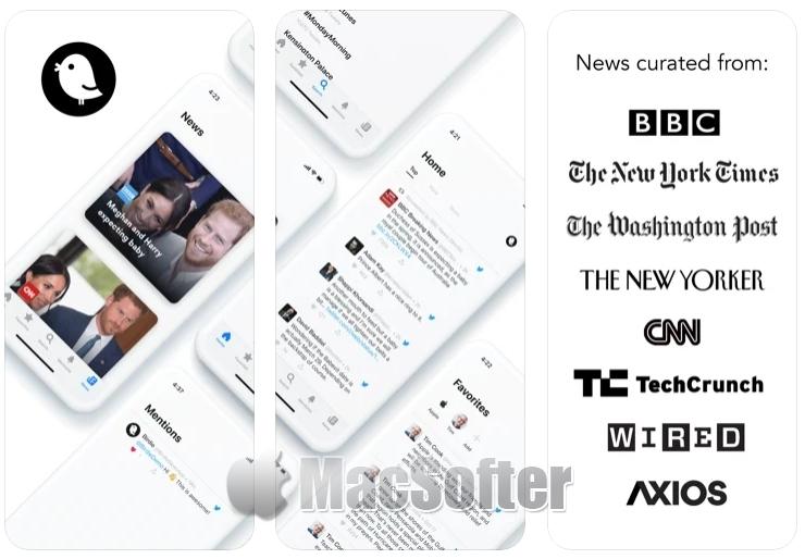 [iPhone/iPad限免] Birdie for Twitter : 推特Twitter客户端工具