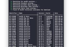[Mac] Mist : macOS安装包命令行下载工具