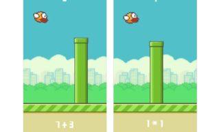 [iPhone/iPad限免] Flappy Brain : 结合了数学的横版飞行游戏