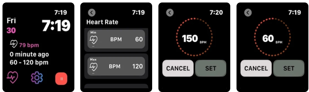 [Apple Watch限免] 心率电话警报器 :心率过高过低电话通知家人的工具