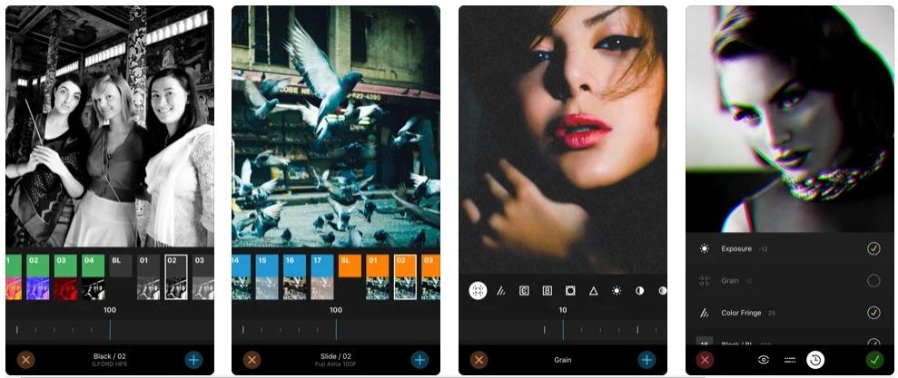[iPhone限免] Filter Candy :电影巨星风格照片滤镜特效处理工具