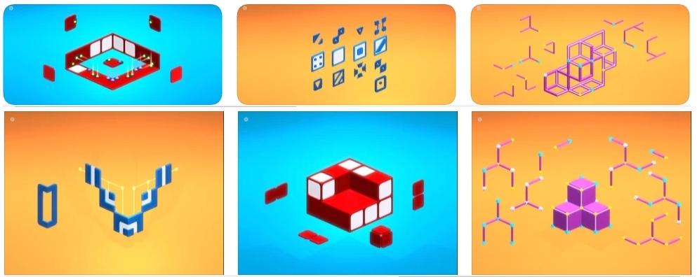 [iPhone/iPad限免] Scalak : 令人身心舒畅的益智解谜游戏