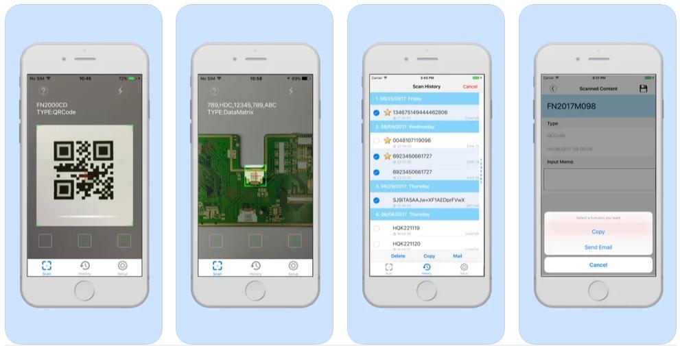 [iPhone限免] FScan-Pro :专业二维码和条码扫描工具