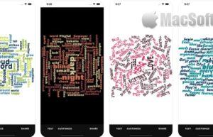 [iPhone/iPad限免] Word Collage : 词云图制作工具
