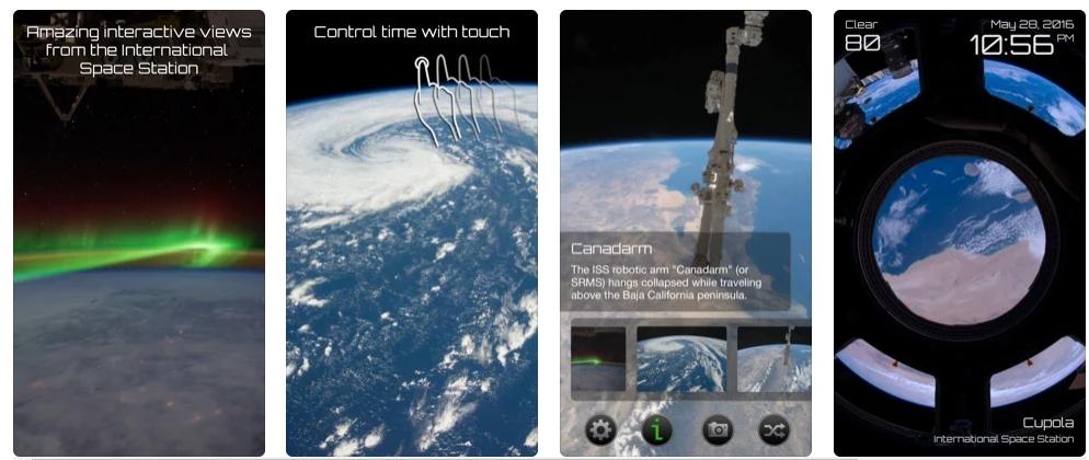[iPhone/iPad限免] Earthlapse :国际空间站视角体验工具