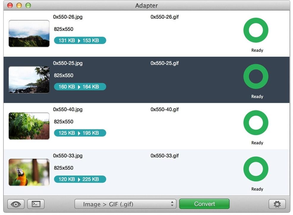 Adapter for Mac :视频、音频、图片格式转换器