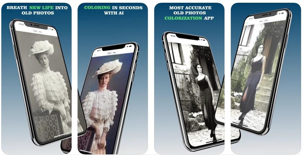 [iPhone限免] Colorize : 旧照片着色软件