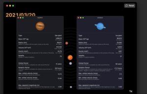 [Mac] 8Planets :太阳系八大行星观星工具
