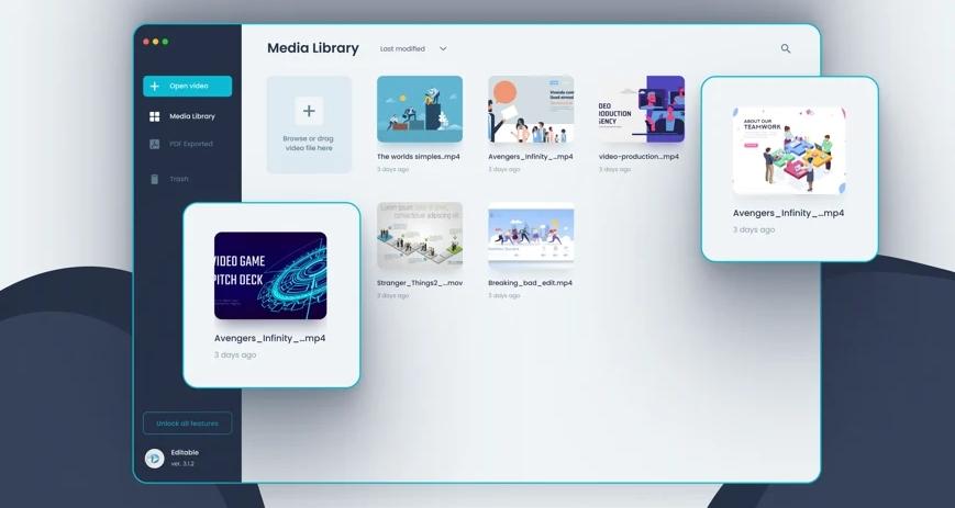 [Mac] Editable : Mac上的视频标注工具