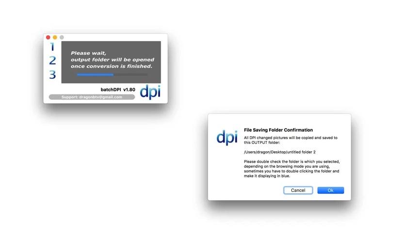 [Mac] batchDPI :图片dpi统一设置工具