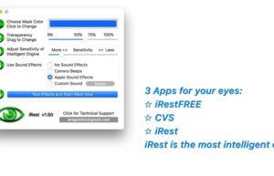 [Mac] iRest : 智能化休息提醒工具