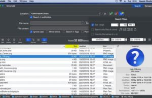[Mac] iScherlokk : 文件快速搜索和比较工具