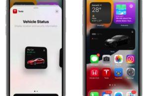 特斯拉更新iPhone应用:全新小工具可快速查看车辆状态