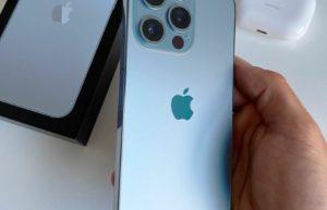 iPhone 13 Pro远峰蓝色上手图首度曝光