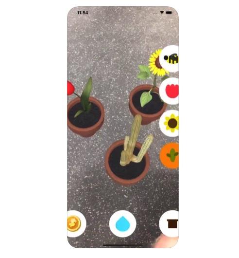 [iPhone限免] LittlePlant :基于AR的虚拟植物种植游戏