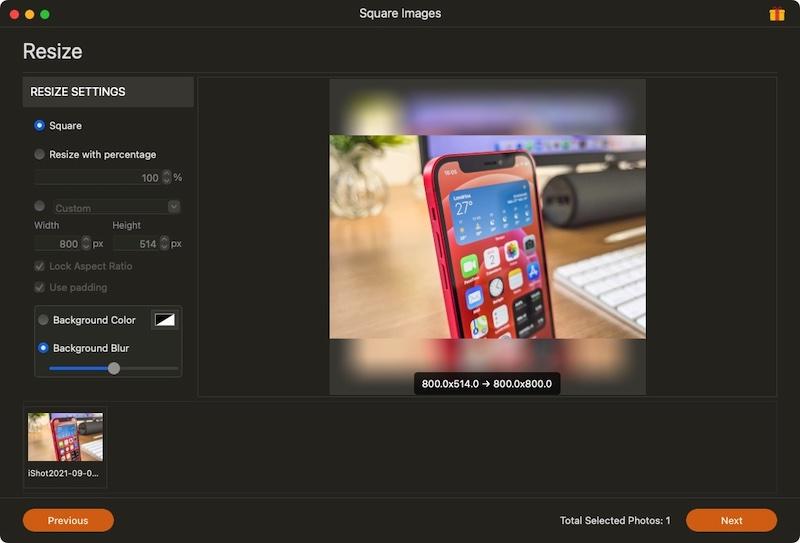 [Mac] Square Images :免裁剪方形图制作工具