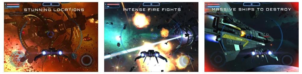 [iPhone/iPad限免] Subdivision Infinity :科幻3D太空射击游戏