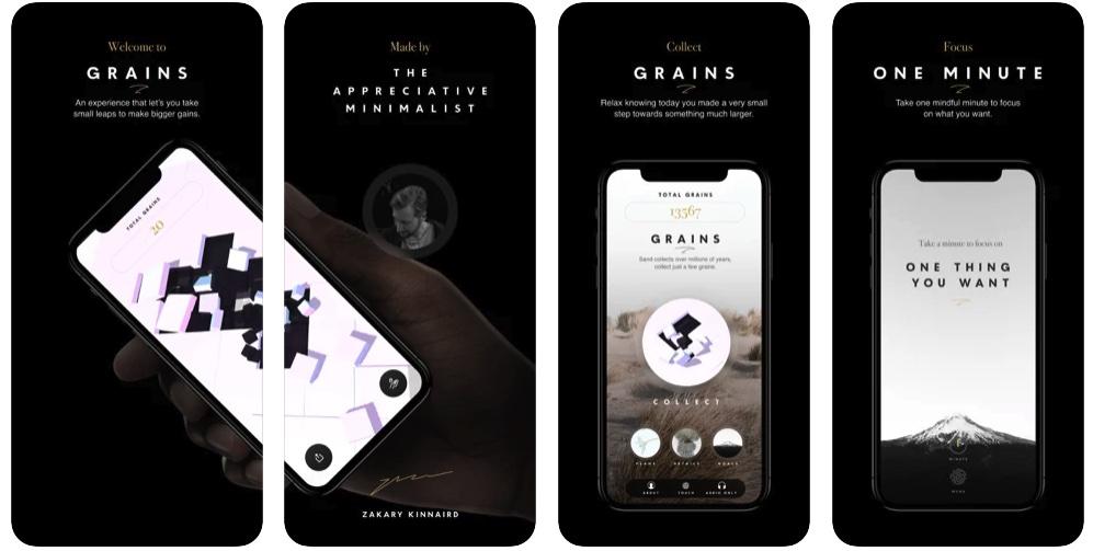 [iPhone限免] Grains:帮助我们专注的正念冥想软件