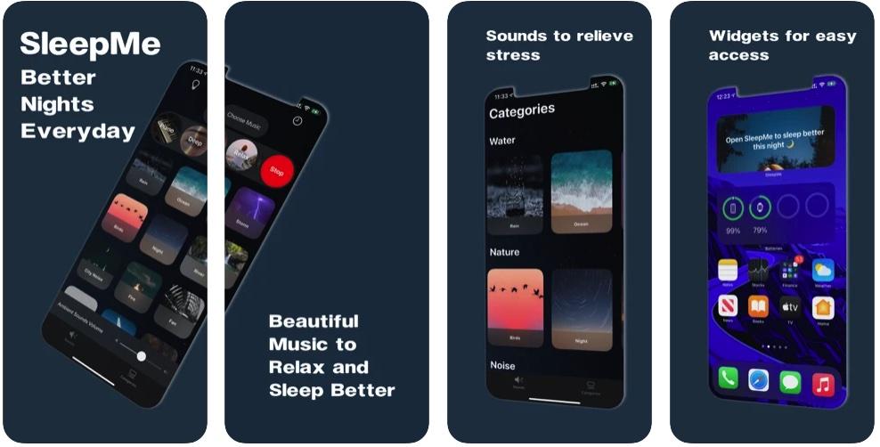 [iPhone/iPad限免] SleepMe :帮助睡眠的白噪音软件