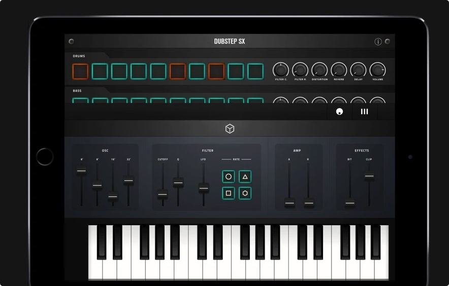[iPad限免] Dubstep SX : 回响贝斯Dubstep创作录制工具