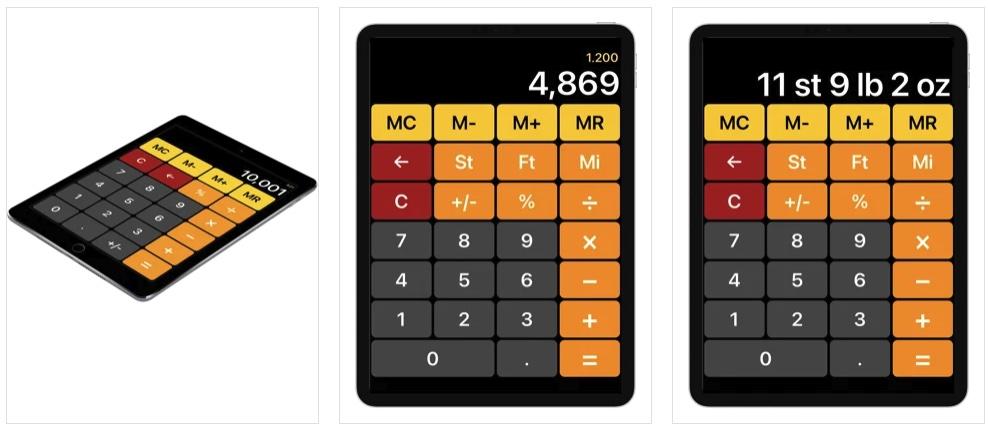 [iPhone/iPad限免] EasyCalc calculator converter :支持单位转换的计算器软件