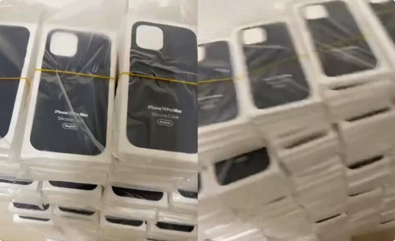 iPhone 13 Pro Max MagSafe保护套照片曝光