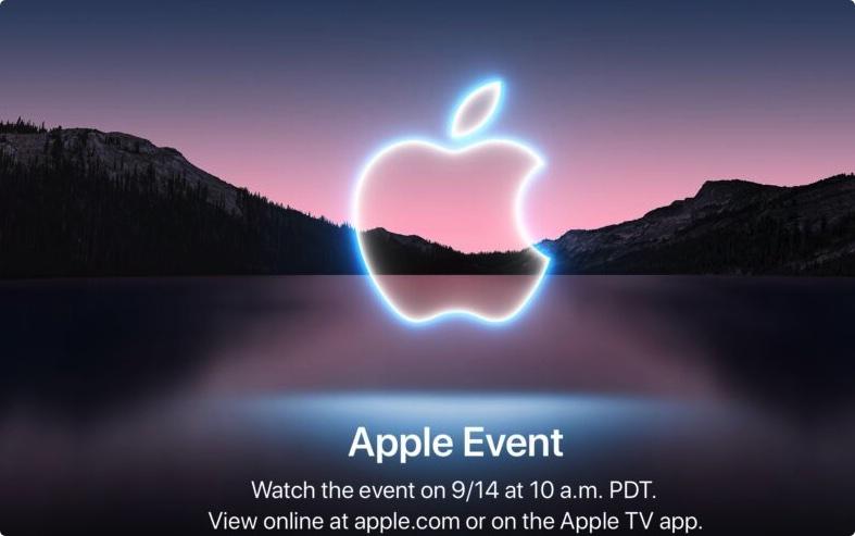 苹果正式公布iPhone 13发布会日期