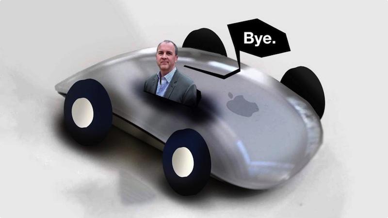 苹果造车遭遇:Apple Car主管跳槽福特
